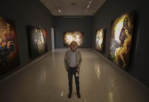 Daniel Kent, en el Museo de la Artes de la UdeG