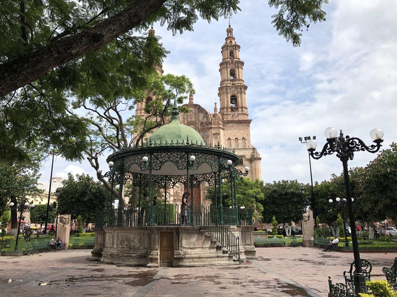 Plaza de Lagos de Moreno