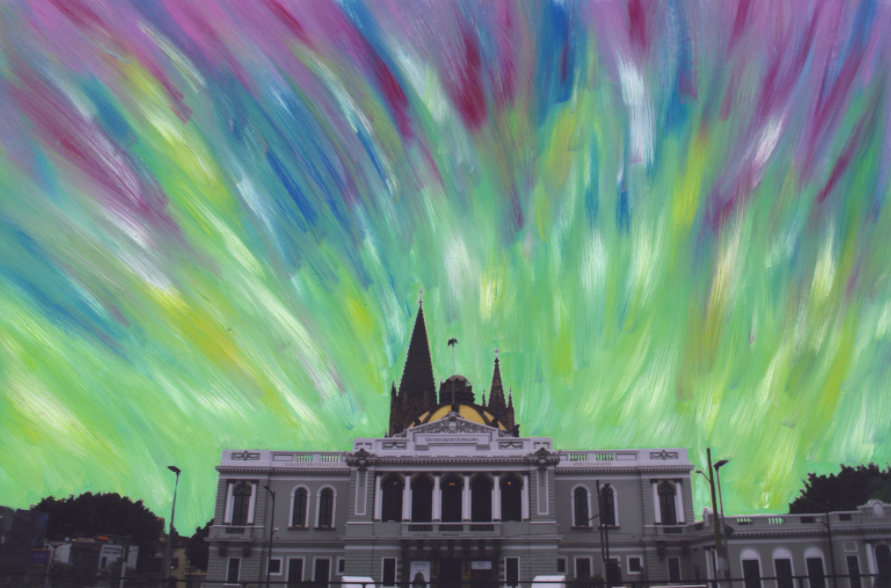 Sin título, de la serie El cielo es un lienzo en blanco, de Juan Aranda