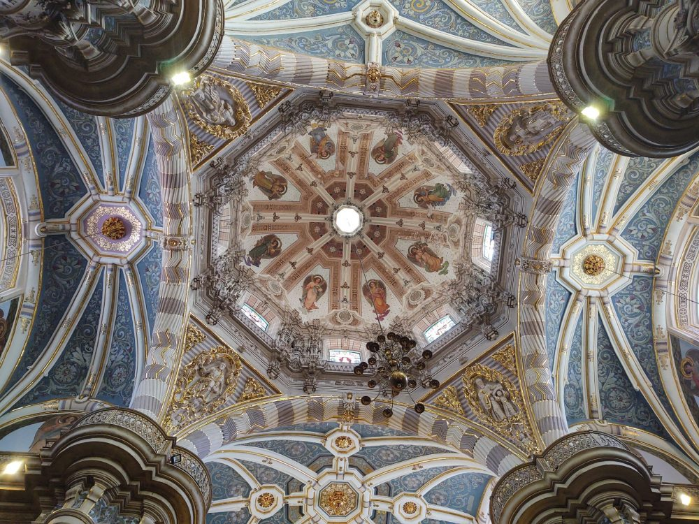 La cúpula de la Parroquia de la Asunción en Lagos de Moreno