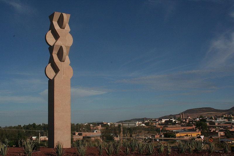 """Escultura """"La espiga de los suspiros"""""""