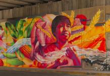 Mural de Poncitlán, hecho por Adry del Rocío, Carlos Alberto GH y Rubén Poncia