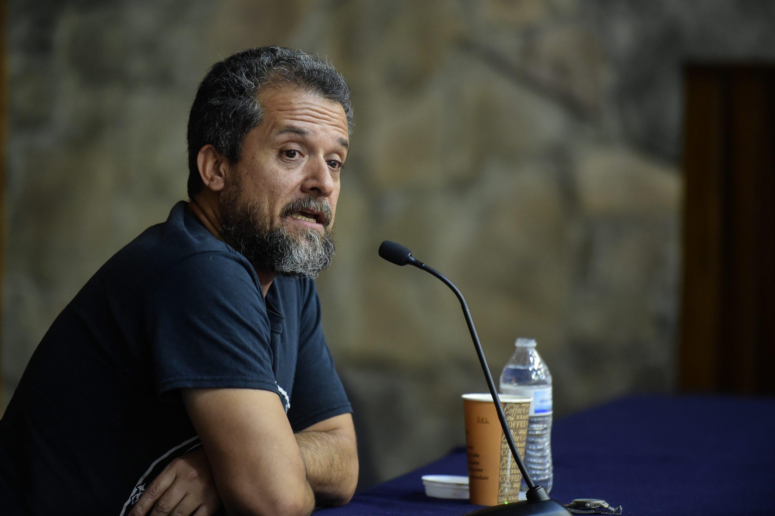 Ángel Ortuño. Fotografía: David Valdovinos