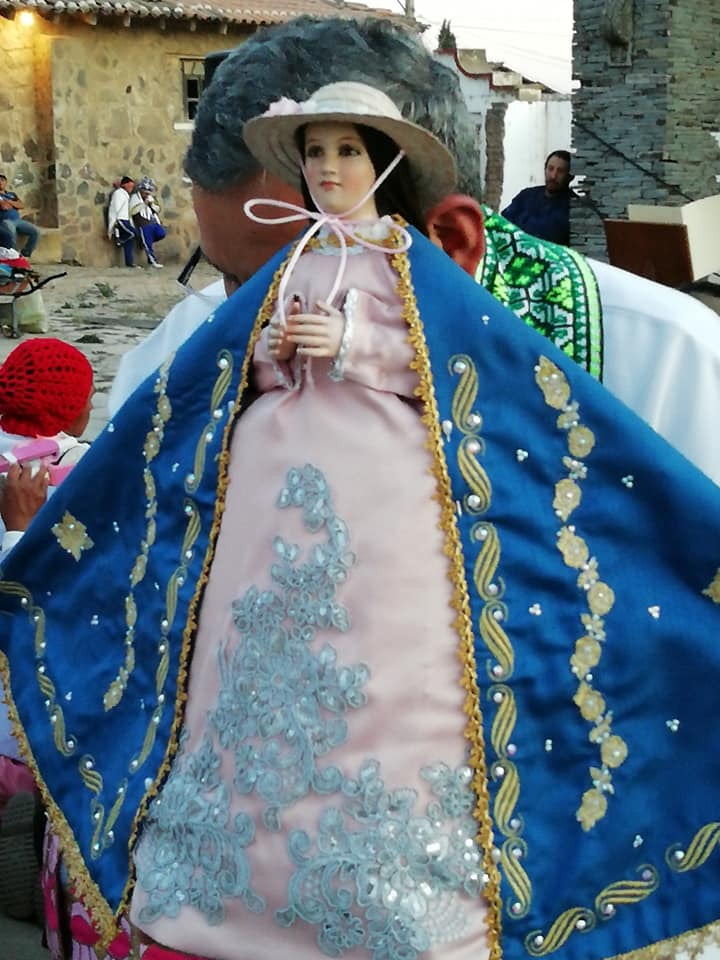 Virgen de la Defensa en procesión